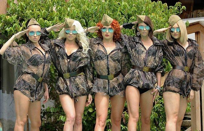 голые армия группа фото